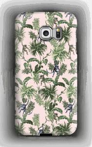 Apinoita ja lehtiä kuoret Galaxy S6 Edge