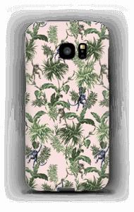 Aber og blad cover Galaxy S7 Edge