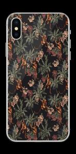 Nuit de singes Skin IPhone X