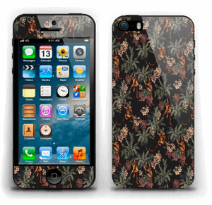 Nuit de singes Skin IPhone 5s