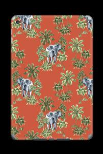 Eléphants & désert rouge Skin IPad Mini 4
