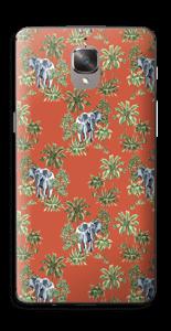 Eléphants & désert rouge Skin OnePlus 3