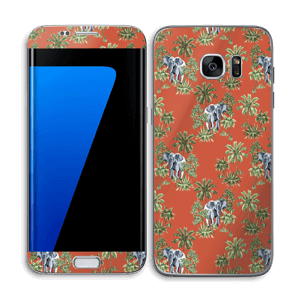 Hiding Elephant Skin Galaxy S7 Edge
