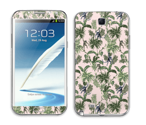 Singes & plantes Skin Galaxy Note 2