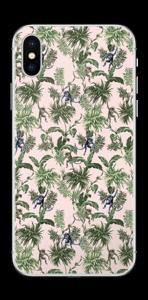 Singes & plantes Skin IPhone X