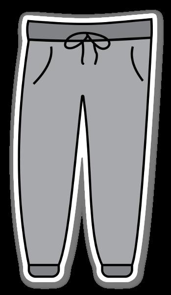 Pantalon Poppy sticker