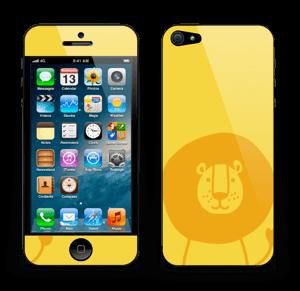 Lion Friend Skin IPhone 5