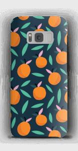 Appelsiini kuoret Galaxy S8