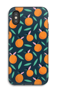 Oranges oranges Coque  IPhone X tough