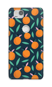 Appelsiini kuoret Pixel 2