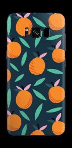 Orange Skin Galaxy S8