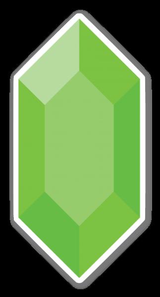 Smaragd Grün sticker