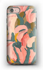 Blomsterblad cover IPhone 7 tough