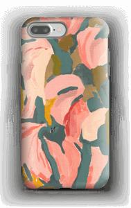 Pink Flower case IPhone 7 Plus tough