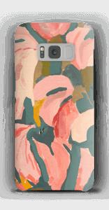 Peinture rose florale Coque  Galaxy S8