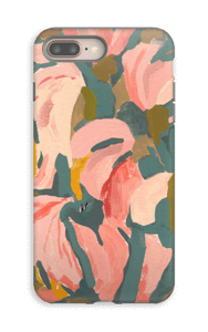 Blomsterblad cover IPhone 8 Plus tough