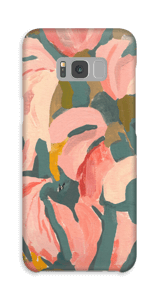 Blomsterblad cover Galaxy S8 Plus