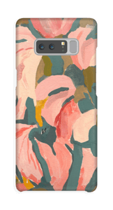 Pink Flower case Galaxy Note8