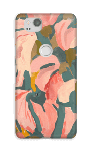 Light Pink Flower case Pixel 2