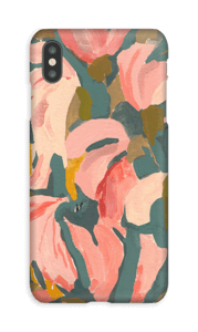 Pink Flower case IPhone XS Max