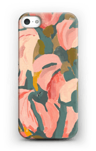 Pink Flower case IPhone 5/5S