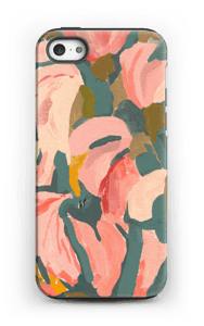 Pink Flower case IPhone 5/5s tough