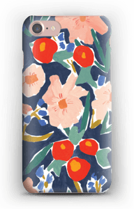 Akvarelblomster cover IPhone 7