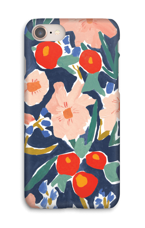 Akvarelblomster cover IPhone 8