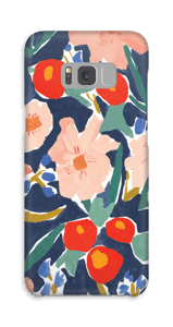 Akvarelblomster cover Galaxy S8 Plus