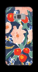 Blumenfeld Handyhülle Galaxy S8 Plus