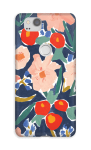 Flower Field case Pixel 2