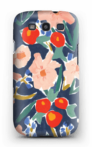 Blumenfeld Handyhülle Galaxy S3