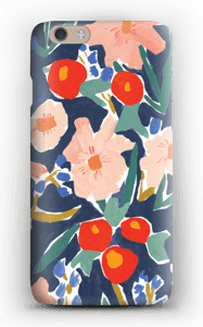 Akvarelblomster cover IPhone 6