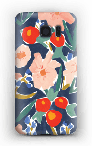 Blomsterfält skal Galaxy S6