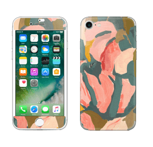 Pink Flower  Skin IPhone 7