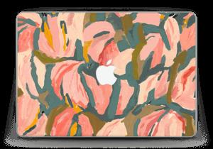 "Peinture fleurs roses Skin MacBook Pro Retina 13"" 2015"