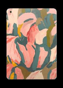 Light Pink Flower Skin IPad 2017