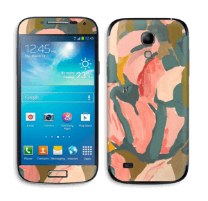 Light Pink Flower Skin Galaxy S4 Mini