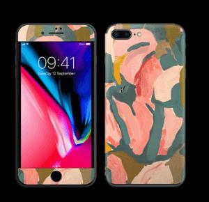 Light Pink Flower Skin IPhone 8 Plus