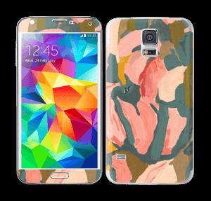 Pink Flower  Skin Galaxy S5