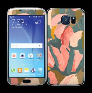 Light Pink Flower Skin Galaxy S6