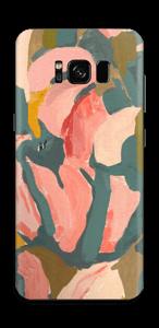 Light Pink Flower Skin Galaxy S8