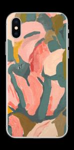 Blomblad  skin IPhone XS