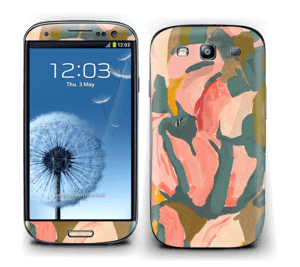 Light Pink Flower Skin Galaxy S3