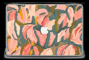 "Peinture fleurs roses Skin MacBook Pro 15"" -2015"