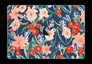 "Peinture fleurie Skin MacBook Pro 15"" 2016-"