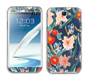 Flower Field Skin Galaxy Note 2