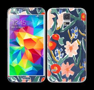 Flower Field Skin Galaxy S5