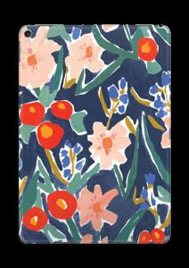 Peinture fleurie Skin IPad Pro 10.5