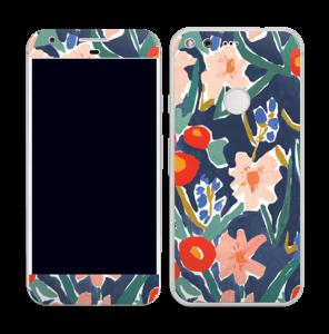 Peinture fleurie Skin Pixel